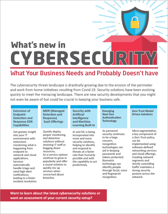 Whats New inCybersecurity