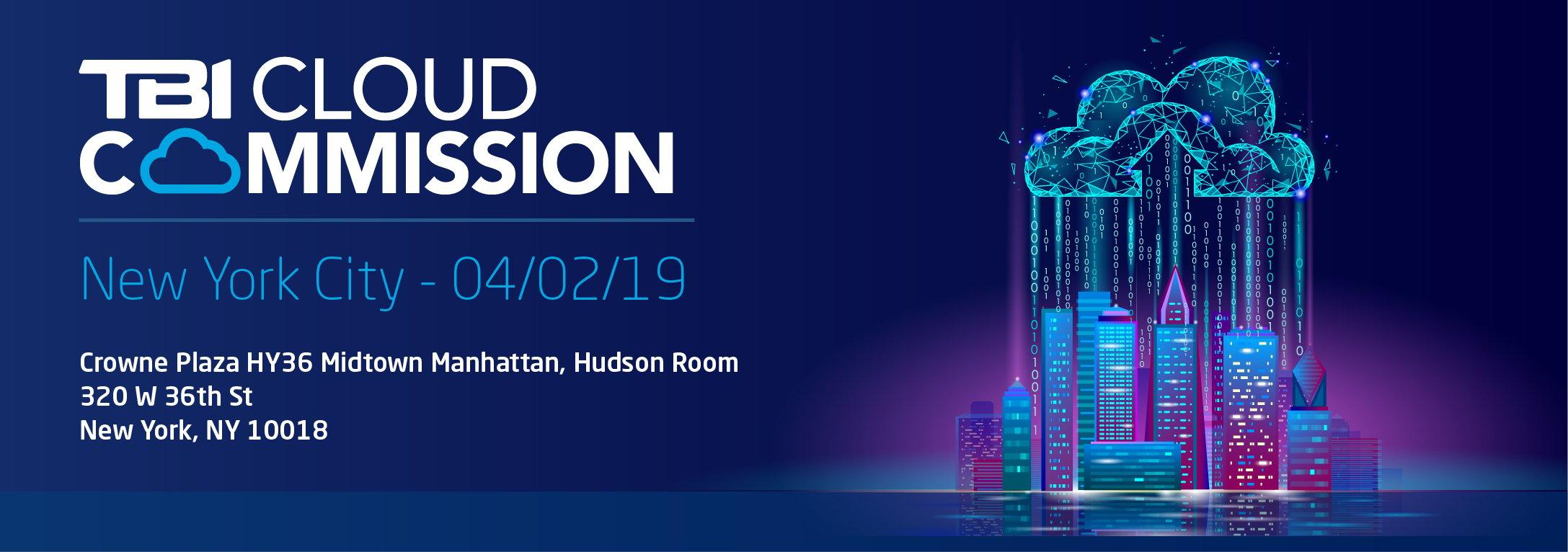 TBI Cloud Commission NYC 01/02/19